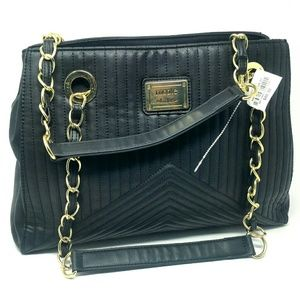 Black Nicole Miller Purse NWT